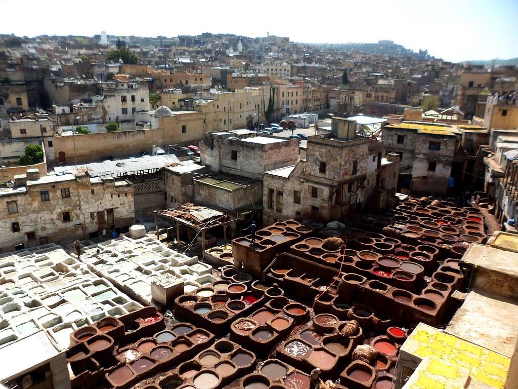 viaggio in Marocco fai da te-concerie-fes
