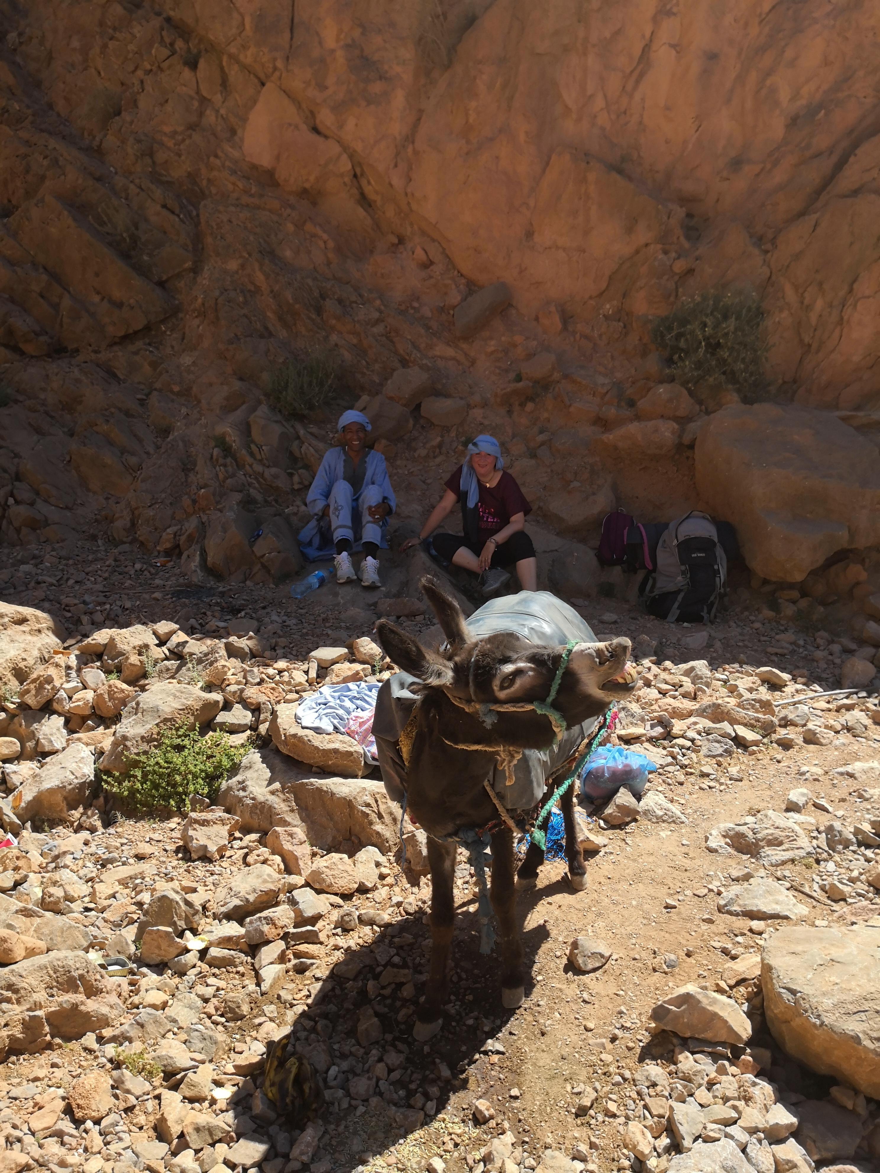 esperienza con i nomadi dell'Atlante