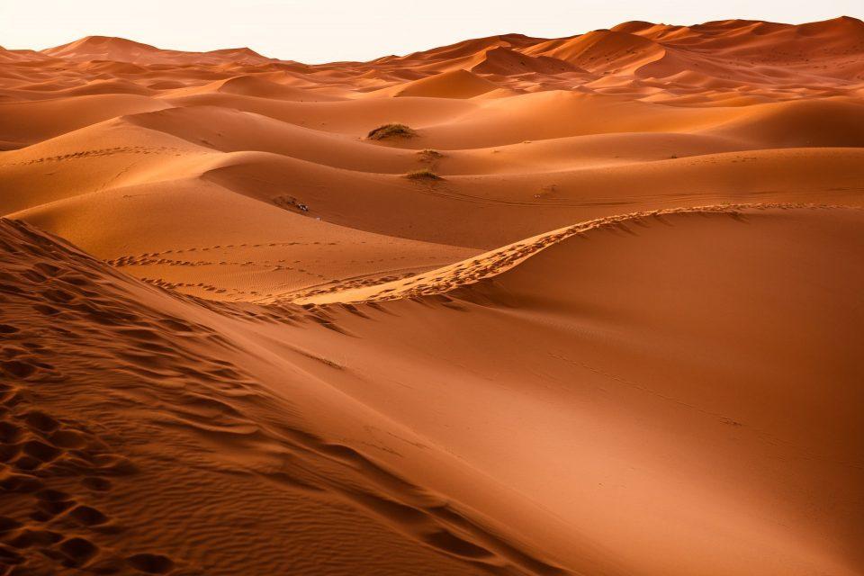 deserto del sahara trekking in marocco
