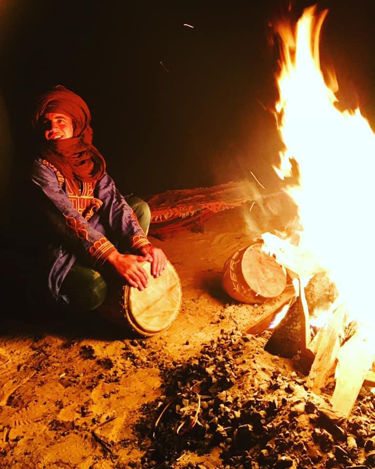Musica tipica nel deserto
