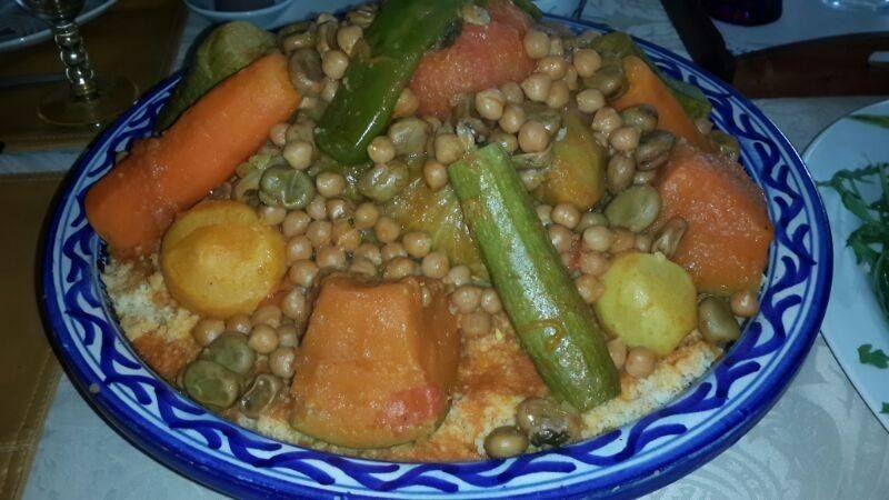 Il piatto tipico marocchino: il cous cous