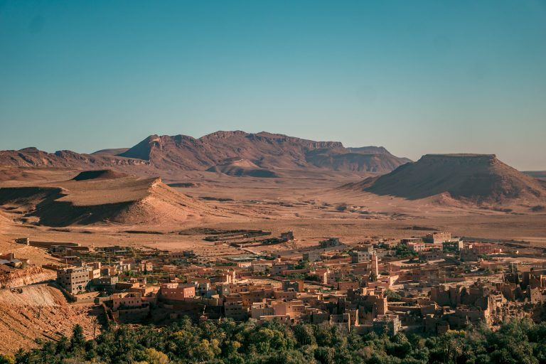 panorama in Marocco